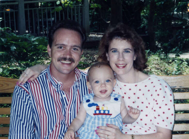 THEN: 1993. Miranda and Darrell Miller, with son Travis Miller, less than a year old.