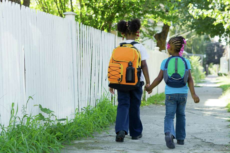 Donors to a giving circle formed by the Fairfield County Community Foundation doubled the number of Bridgeport children who leave school on Fridays with backpacks filled with nutritious food for the weekend. The giving circle supported the Connecticut Food BankâÄôs KidsâÄô Backpack Program. Schools identify children who need food. Every Friday, staff discretely place food into the childrenâÄôs own backpacks. Photo: Contributed Photo, Richard Freeda / Connecticut Post Contributed Richard Freeda