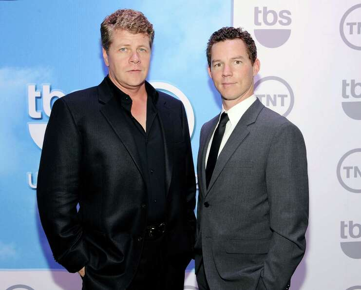 Actors Michael Cudlitz, left and Shawn Hatosy from the show