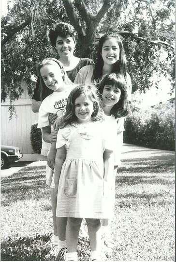 THEN: 1992, Davis, Calif. (front to back) Carolina M. Giavedoni, Alejandra M. Giavedoni, Florencia M