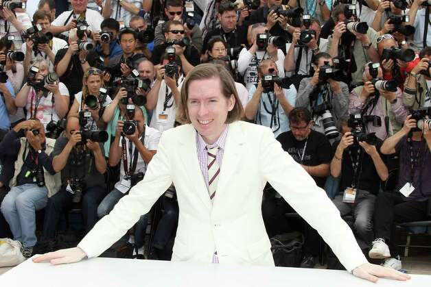 "US director Wes Anderson poses during the photocall of ""Moonrise Kingdom"" at the 65th Cannes film festival on May 16, 2012 in Cannes.  AFP PHOTO / VALERY HACHE        (Photo credit should read VALERY HACHE/AFP/GettyImages) Photo: VALERY HACHE, AFP/Getty Images / 2012 AFP"
