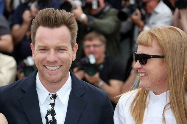 British actor Ewan Mc Gregor and British director and scriptwriter Andrea Arnold pose during the photocall of the jury of the 65th Cannes film festival on May 16, 2012 in Cannes.   AFP PHOTO / LOIC VENANCE        (Photo credit should read LOIC VENANCE/AFP/GettyImages) Photo: LOIC VENANCE, AFP/Getty Images / 2012 AFP