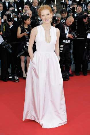 "CANNES, FRANCE - MAY 16:  Jessica Chastain attends opening ceremony and ""Moonrise Kingdom"" premiere during the 65th Annual Cannes Film Festival at Palais des Festivals on May 16, 2012 in Cannes, France. Photo: Gareth Cattermole, Getty Images / 2012 Getty Images"