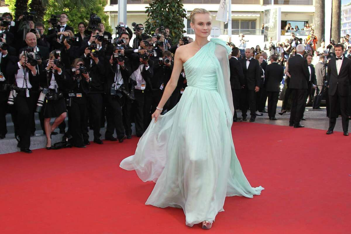 Member of the jury, German actress Diane Kruger arrives for the screening of