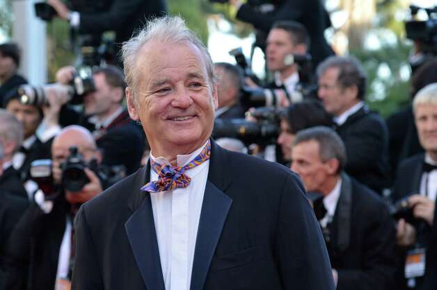 "US actor Bill Murray arrives for the screening of ""Moonrise Kingdom"" and the opening ceremony of the 65th Cannes film festival on May 16, 2012 in Cannes.  AFP PHOTO / ALBERTO PIZZOLI        (Photo credit should read ALBERTO PIZZOLI/AFP/GettyImages) Photo: ALBERTO PIZZOLI, AFP/Getty Images / 2012 AFP"