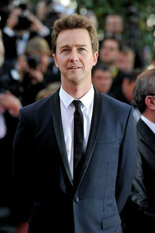 "CANNES, FRANCE - MAY 16:  Actor Edward Norton attends opening ceremony and ""Moonrise Kingdom"" premiere during the 65th Annual Cannes Film Festival at Palais des Festivals on May 16, 2012 in Cannes, France. Photo: Gareth Cattermole, Getty Images / 2012 Getty Images"