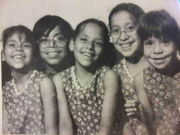 THEN: Names(L to R): Susanna Ortiz (now Morales), Anthony Ortiz, Isabel Ortiz, 