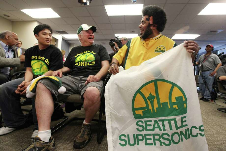 The Seattle SuperSon ... Oh wait. Moving on.   Photo: AP