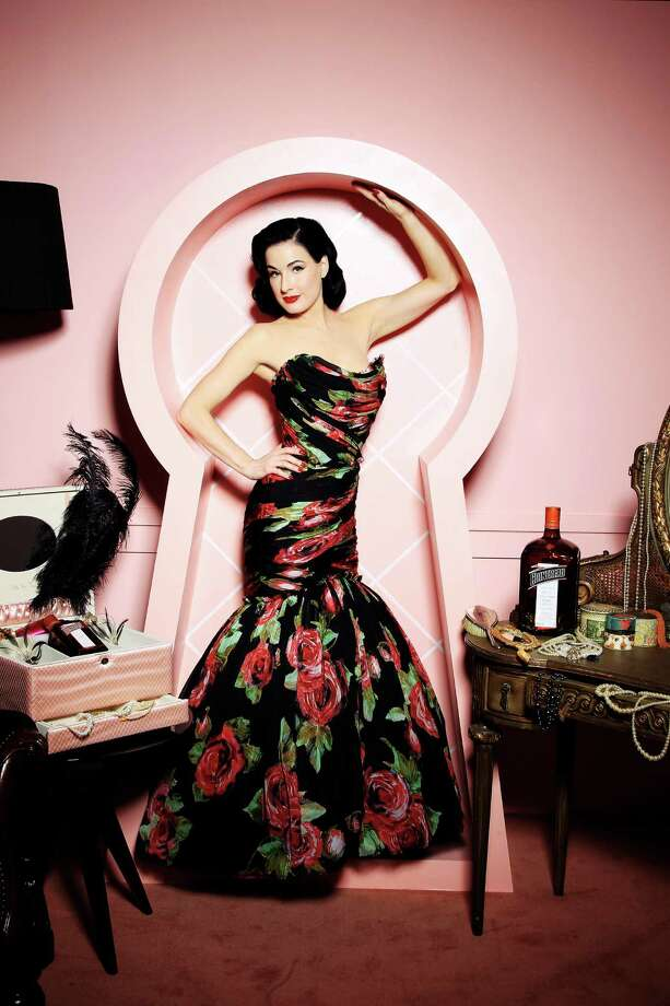 Dita working for Cointreau in London on Oct. 22, 2010. Photo: Chris Jackson, Getty Images For Cointreau / 2010 Getty Images