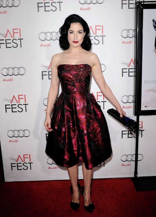 "Dita is simply stunning at the ""Black Swan"" closing night gala during AFI FEST 2010 on Nov. 11, 2010 in Hollywood, Calif. Photo: Jason Merritt, Getty Images / 2010 Getty Images"