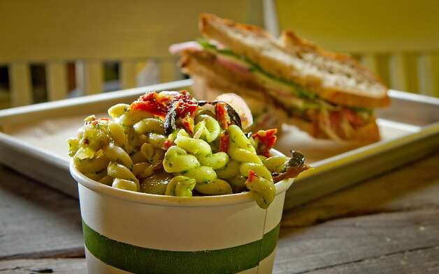 The Gemelli Pasta salad at Slow Restaurant in Berkeley, Calif., is seen on Wednesday May 9th, 2012. Photo: John Storey, Special To The Chronicle