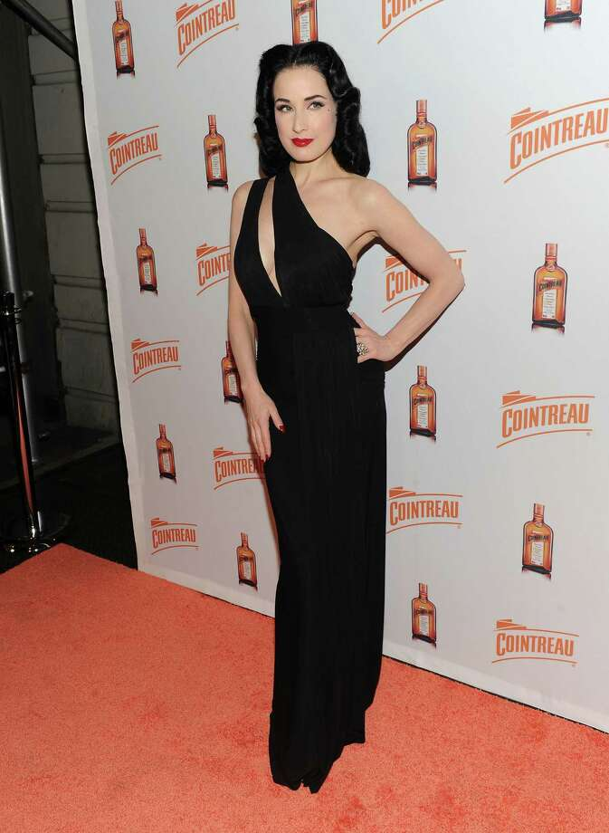 Dita attends a Cointreau event on Nov. 15, 2011 in New York. Photo: Jason Kempin, Getty Images For Cointreau / 2011 Getty Images