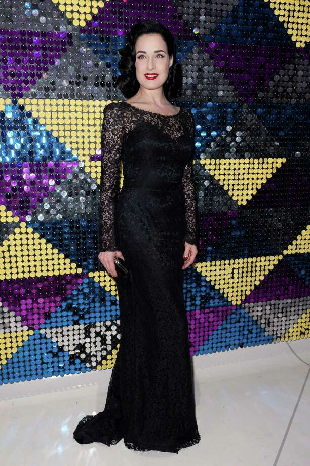 Dita attends the grand opening of the Galeria Melissa flagship store on Feb. 8, 2012 in New York. Photo: D Dipasupil, Getty Images / 2012 Getty Images