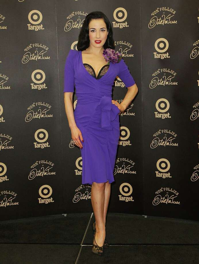 "Dita poses at the ""Von Follies by Dita Von Teese for Target"" photocall on March 9, 2012 in Melbourne, Australia. Photo: Scott Barbour, Getty Images / 2012 Getty Images"