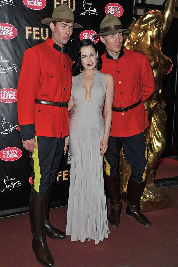 "Dita attends ""Feu"" directed By Christian Louboutin on March 12, 2012 in Paris. Photo: Pascal Le Segretain, Getty Images / 2012 Getty Images"