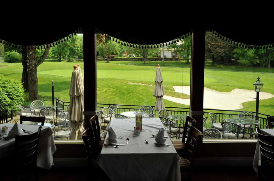 Cafe on the Green literally has a view of the 18th green at Richter Park Golf Course in Danbury. Photographed on Wednesday, May 16, 2012. Photo: Jason Rearick / The News-Times