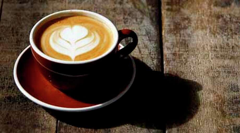 A latte at Down House, a restaurant, bar and coffee shop in the Heights, Monday, Dec. 12, 2011, in Houston. Photo: Michael Paulsen, . / © 2011 Houston Chronicle