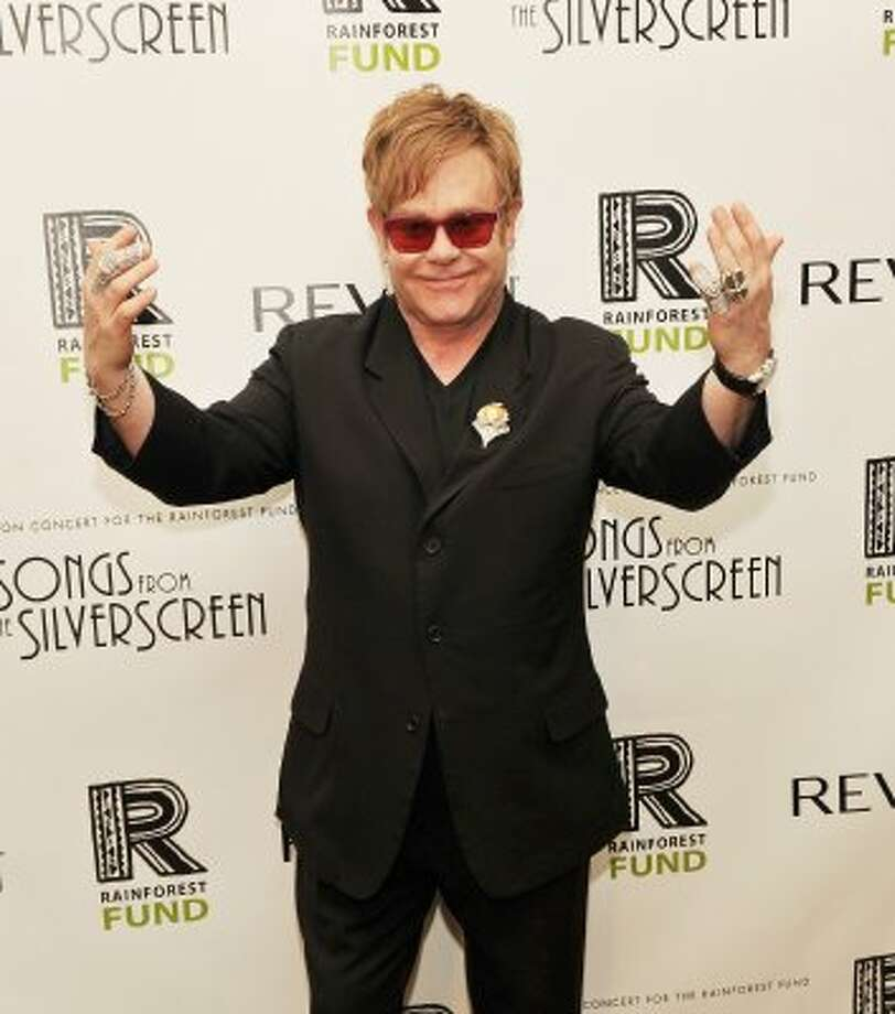 Elton John checked into a Chicago hospital in 1990 to be treated for