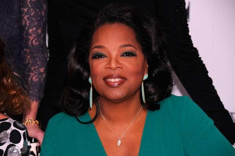 11. Media mogul Oprah Winfrey