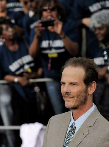 "Peter Berg, director/producer of the film ""Battleship,"" poses at the American premiere of the film, Thursday, May 10, 2012, in Los Angeles. The film is released in theaters this Friday, May 18. Photo: Chris Pizzello, Associated Press"