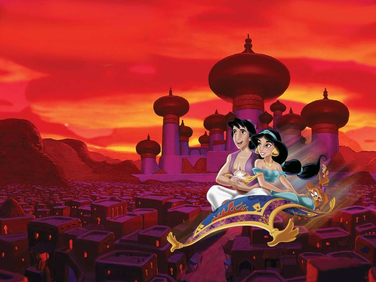 """This screenshot shows a scene from the 1992 Disney animated classic """"Aladdin."""" See some of the most surprising things Donald Trump has said."""