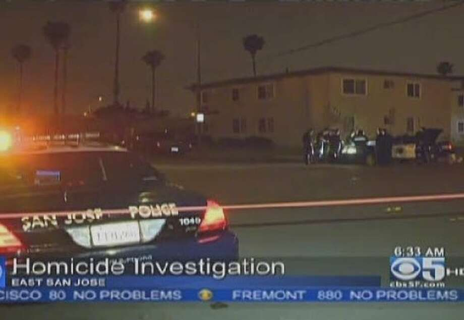An 18-year-old man found shot in San Jose Wednesday night died from his injuries early Thursday morning. Photo: CBS San Francisco