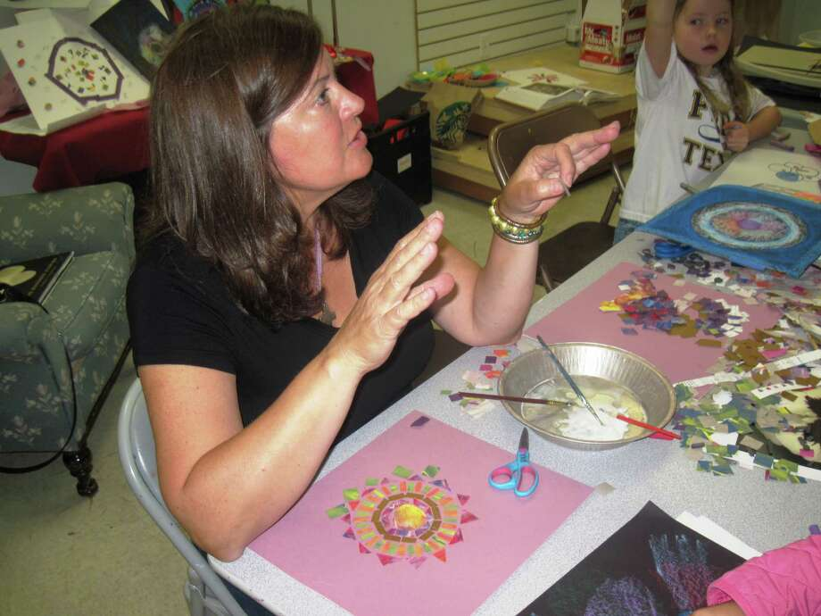 The Woodlands Art League Gallery at Market Street is the home to a multitude of classes.