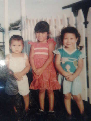 THEN: Kristy Othon (from left), Michelle Casarez, Jennifer Casarez. Photo: COURTESY