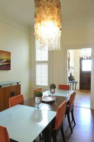 Another view of the home's dining room. Photo: Garylee Hall