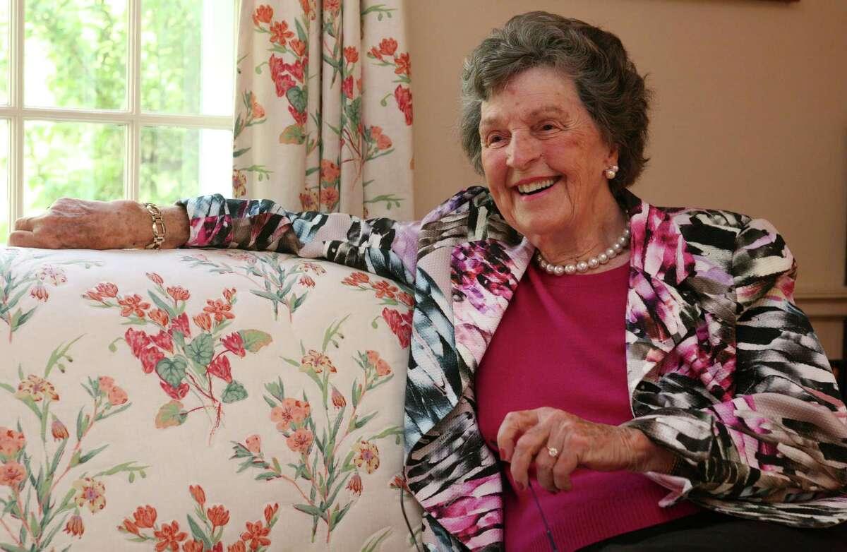 Joan Warburg, Greenwich resident and founder of the New York/Fairfield County Women's Foundation, at her home Friday, May 4, 2012.