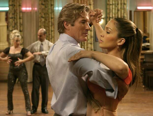 "Dance instructor Paulina (Jennifer Lopez) teaches John Clark (Richard Gere) how to dance the tango in ""Shall We Dance?""  (AP Photo/ David James / Miramax Films) Photo: DAVID JAMES"