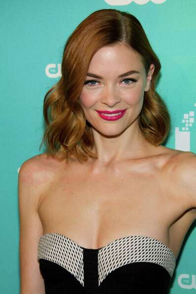 Jaime King attends The CW Television Network's Upfront 2012 in New York, Thursday, May 17, 2012. (AP