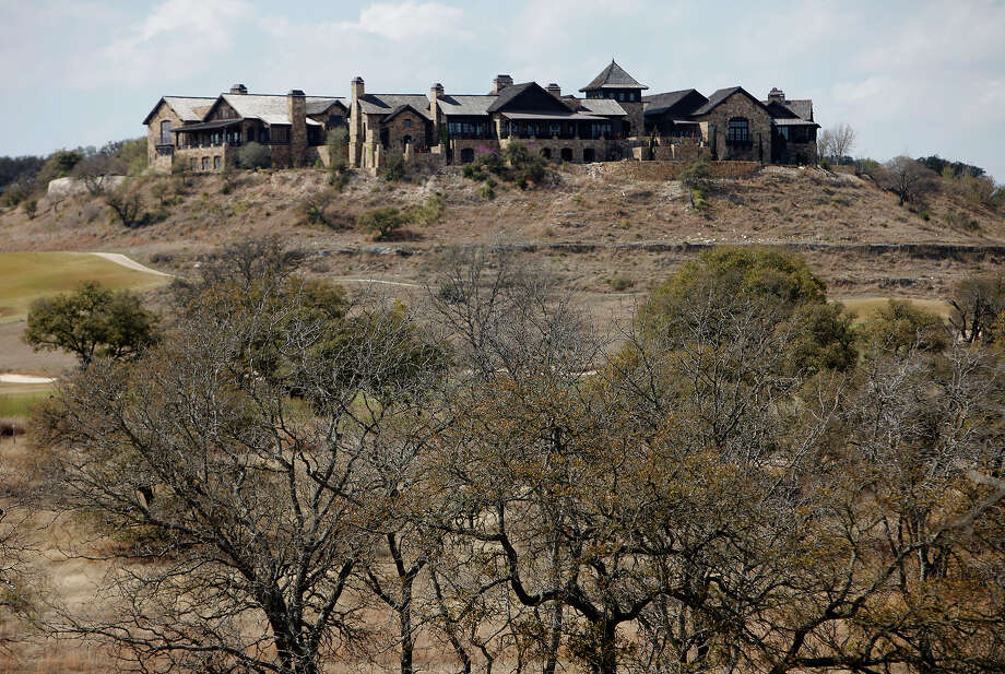 Boot Ranch's Clubhouse Village sits atop a hill near Fredericksburg, Texas on Wednesday, Mar. 16, 2011. Kin Man Hui/kmhui@express-news.net Photo: KIN MAN HUI, SAN ANTONIO EXPRESS-NEWS / San Antonio Express-News