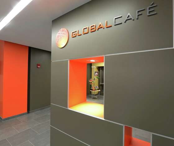 There is a lot of food choices at the Global Cafe in the Global Foundries complex in Malta, N.Y. May 14, 2012. (Skip Dickstein / Times Union) Photo: SKIP DICKSTEIN / 2012