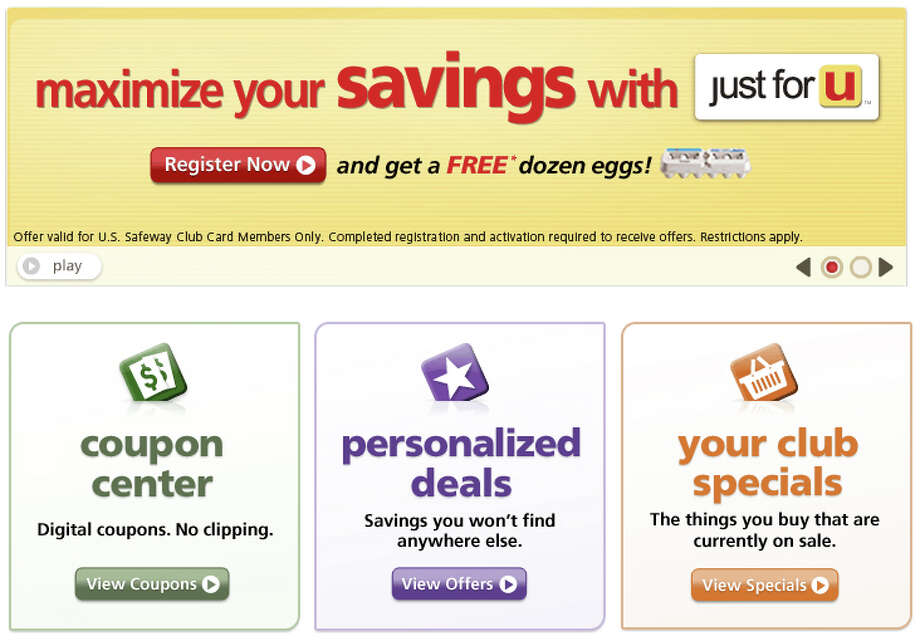safeway club card digital coupons