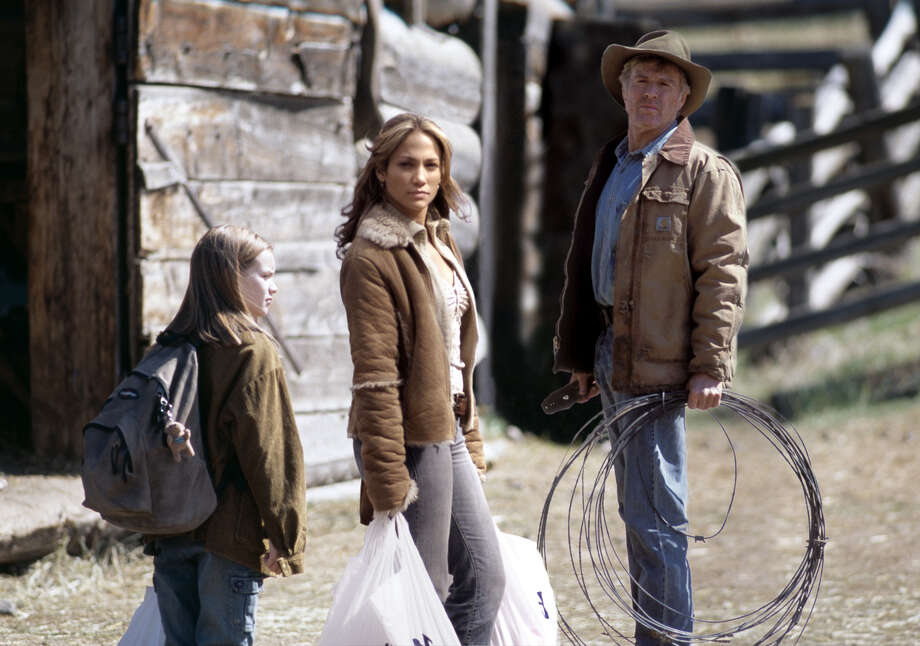 "Becca Gardner, Jennifer Lopez and Robert Redford in ""An Unfinished Life"" (2005).  (AP Photo/Miramax Films/Doane Gregory) Photo: DOANE GREGORY / MIRAMAX FILMS"