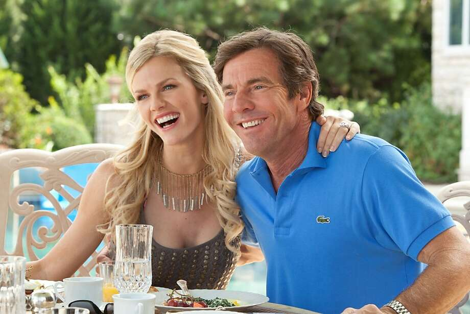 "Brooklyn Decker has continued her movie streak with ""What to Expect When You're Expecting,"" with Dennis Quaid.  Photo: Melissa Moseley, Associated Press"