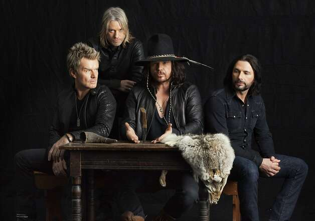 The Cult (l-r): Billy Duffy, Chris Wyse, Ian Astbury, John Tempesta LEFT TO RIGHT:  Billy Duffy, Chris Wyse, Ian Astbury, John Tempesta Photo: Michael Lavine