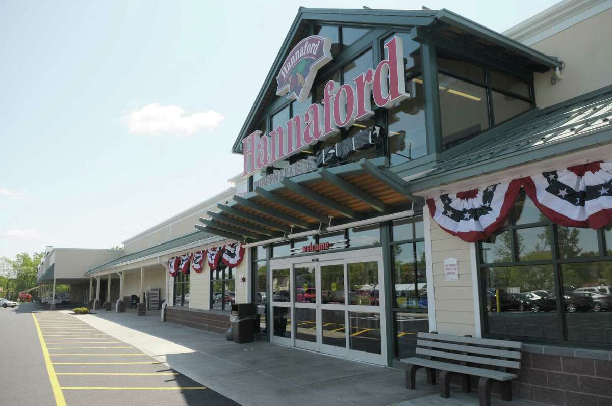 A view of the outside of the new Hannaford supermarket at 43 Round Lake Road on Thursday, May 17, 2012 in Malta, NY. The grand opening of the store for the public will be on Saturday. (Paul Buckowski / Times Union)