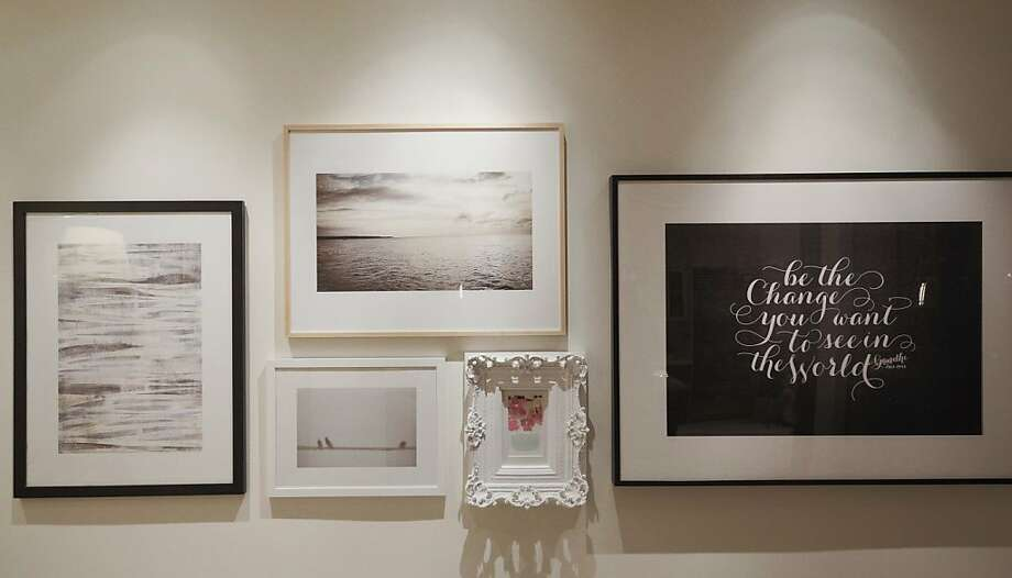 Minted (www.minted.com), a global design community and e-commerce site, launched its art prints business, the company s first major step beyond stationery in providing opportunity for independent designers around the world. The unique, limited edition artwork was unveiled at an intimate party hosted by CEO/Founder Mariam Naficy at her San Francisco home last night. Each wall in Naficy s home featured a group of Minted art prints curated by Silicon Valley leaders, design celebrities and Christy Turlington Burns, founder of Every Mother Counts. Photo: Drew Altizer