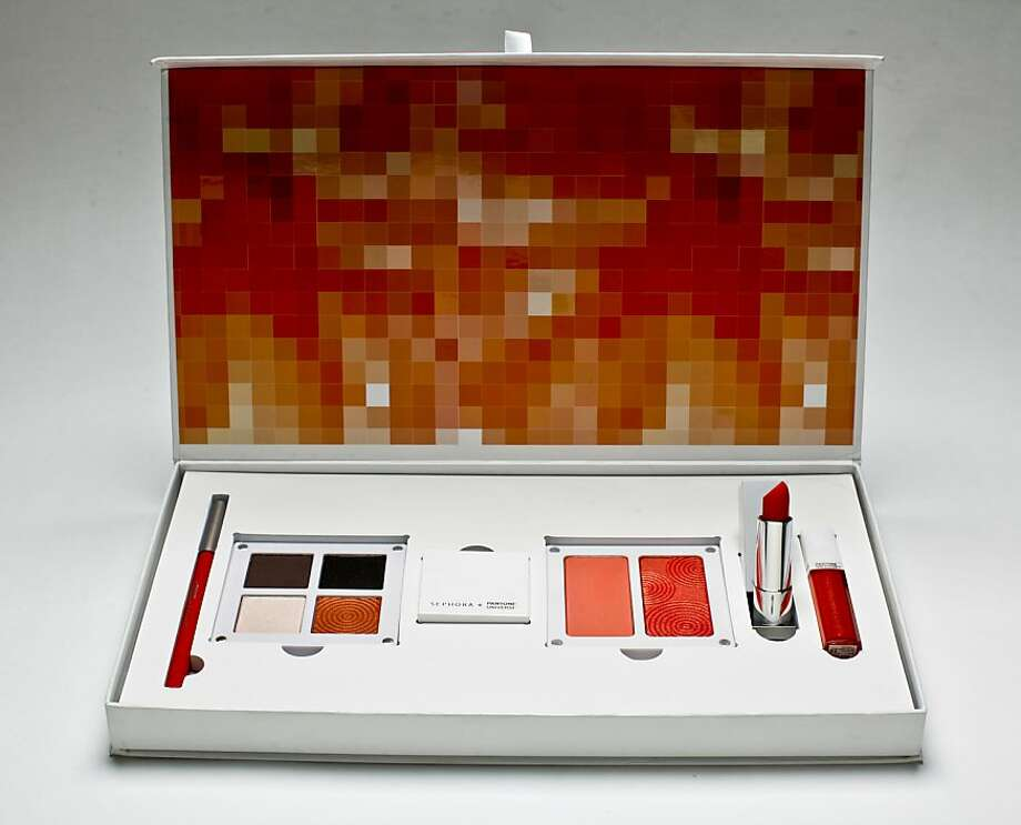 This six-piece limited-edition set from Sephora includes everything to turn up the heat. Photo: Russell Yip, The Chronicle