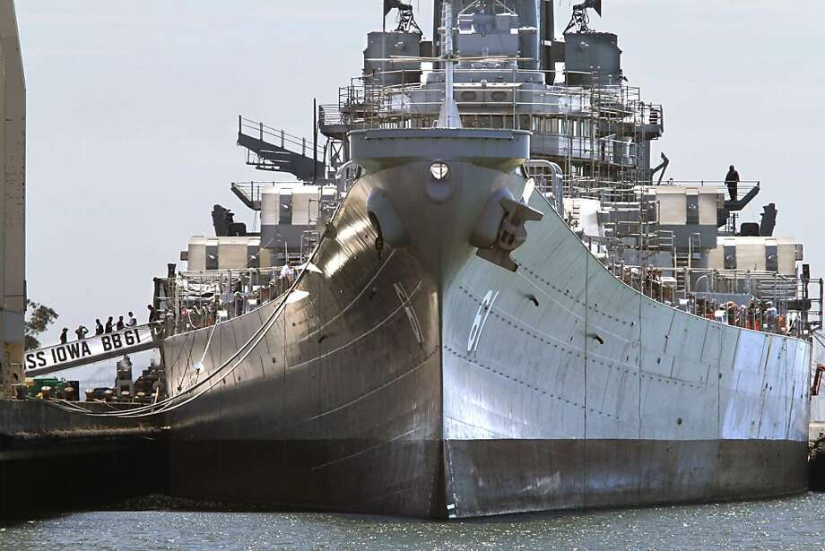 Farewell, battleship Iowa - SFGate