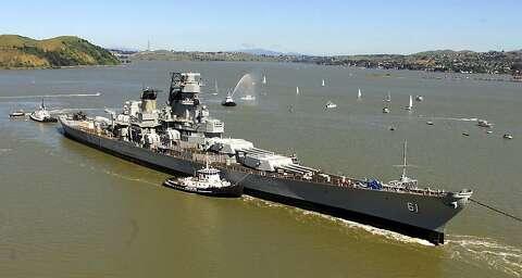 Farewell, battleship Iowa - SFGate