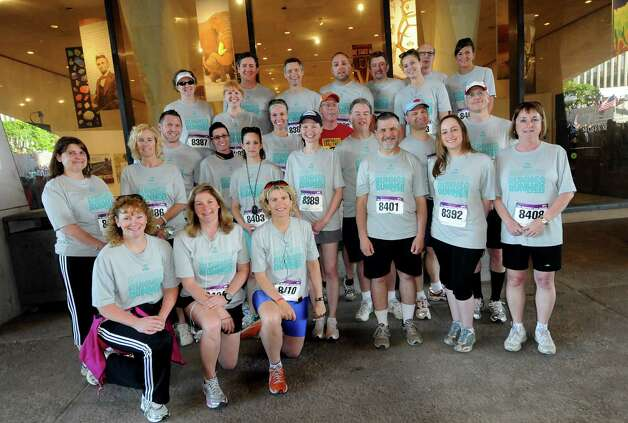 Times Union employees at the CDPHP Workforce Team Challenge on Thursday, May 17, 2012, in Albany, N.Y. (Cindy Schultz / Times Union) Photo: Cindy Schultz / 00017680A