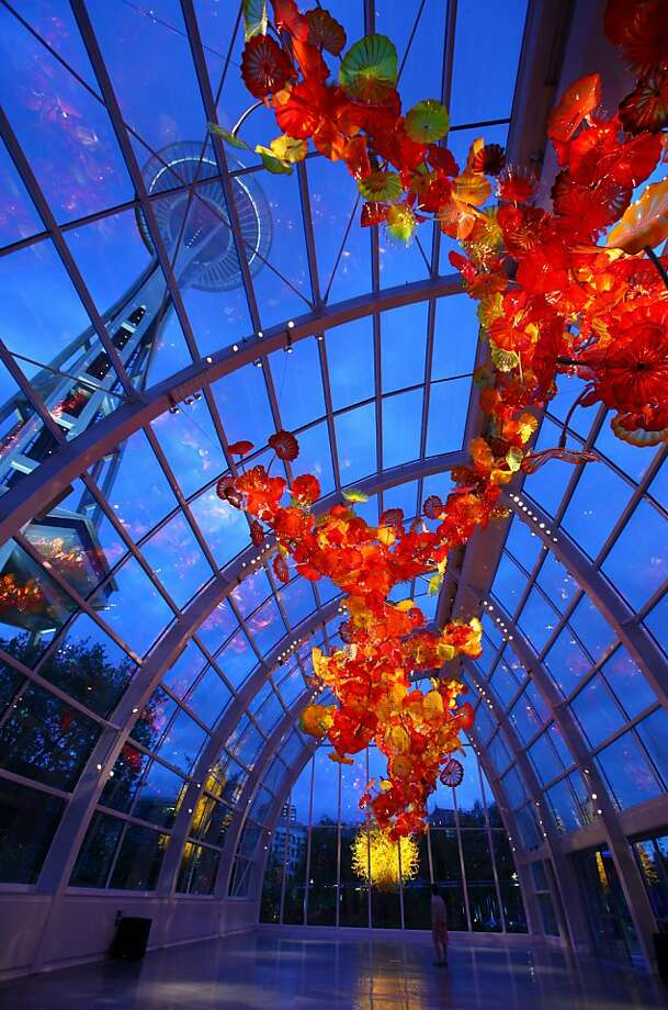 Chihuly Garden And Glass Exhibit Previewed Sfgate