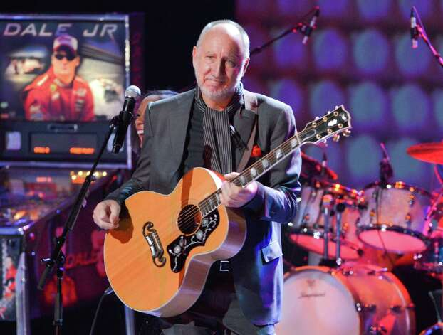 "The Who's Pete Townshend gets the Jerk of the Year award after mouthing obscenities at the father of a 7-year-old girl, who was holding up a sign asking Townshend to smash his guitar at a concert in Ontario. Little Jenny Costello and her dad left the show early after Townshend singled them out from the crowd, saying ""Go away with that sign please,  just go away with it, just go away with it. Don't bring your children…I want to tell you two words but I can't because you've got a child there."" Nice of him to protect the child by mouthing the expletive instead. 