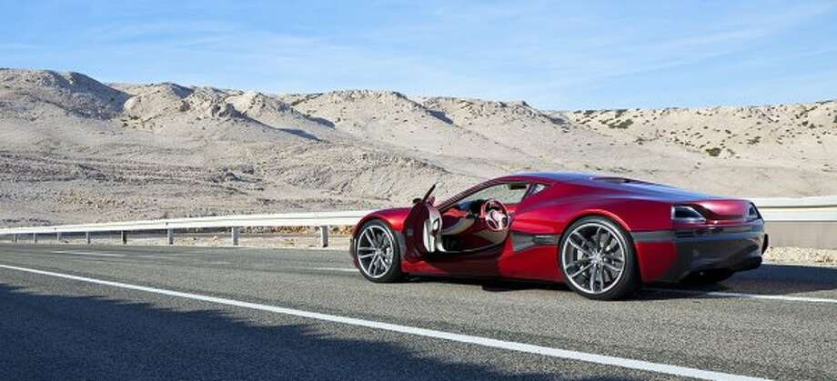 Croatian carmaker Rimac Auto has announced it will put into production the Concept One electric supercar, a concept vehicle that first made waves at last year's Frankfurt Auto Show. The battery-powered vehicle boasts more than 1,000 Hp and reaches a top speed of 190 Mph.  (Rimac)