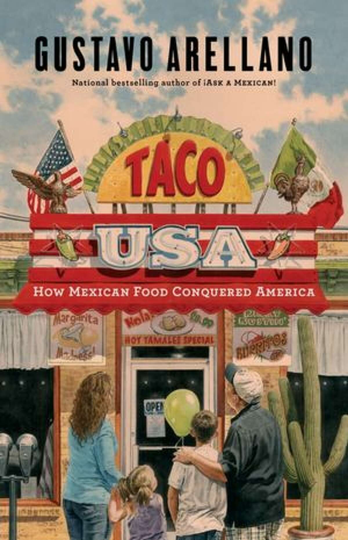 """Cover image for """"Taco USA"""" by Gustavo Arellano"""