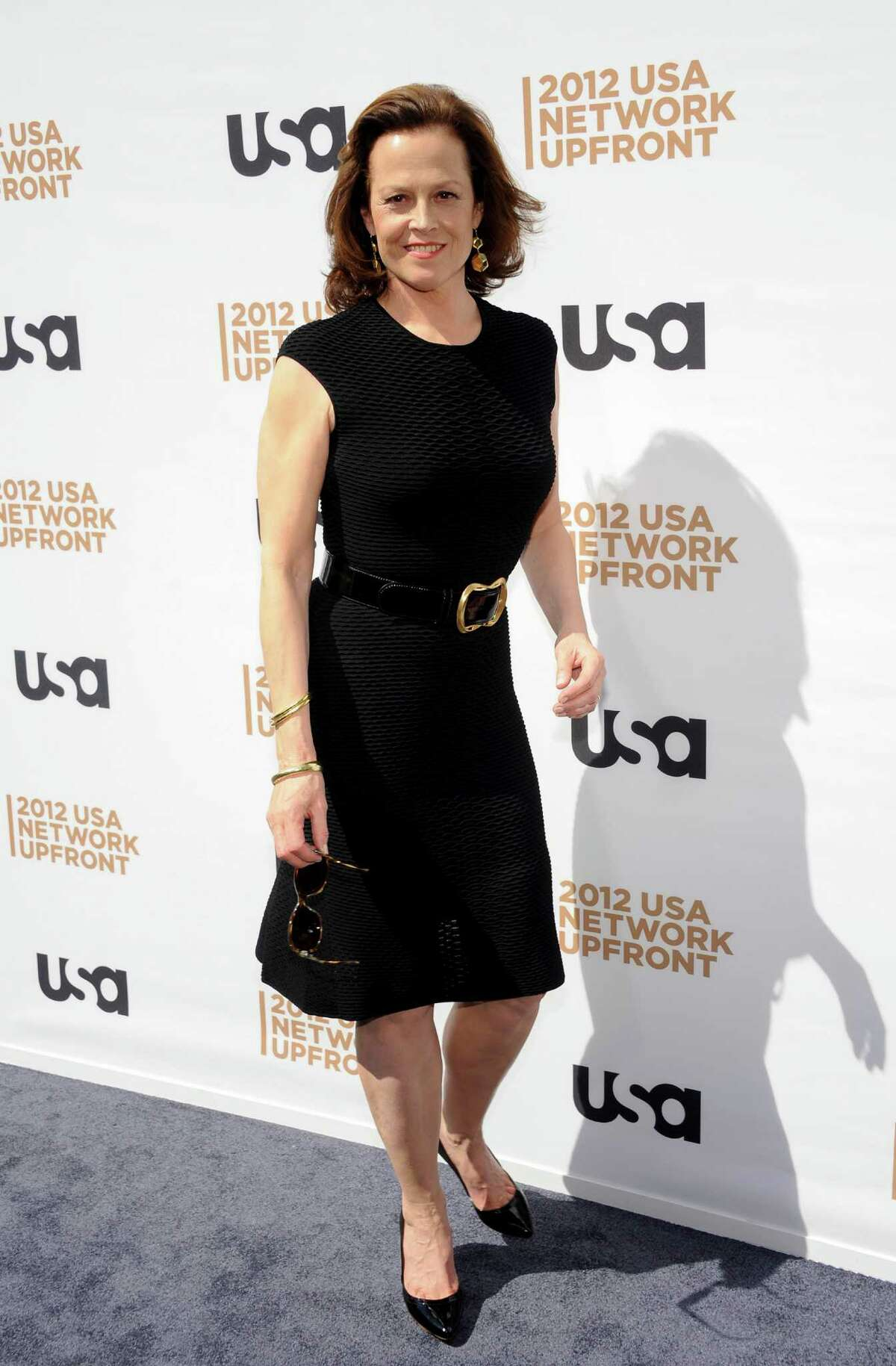 Actress Sigourney Weaver from the show