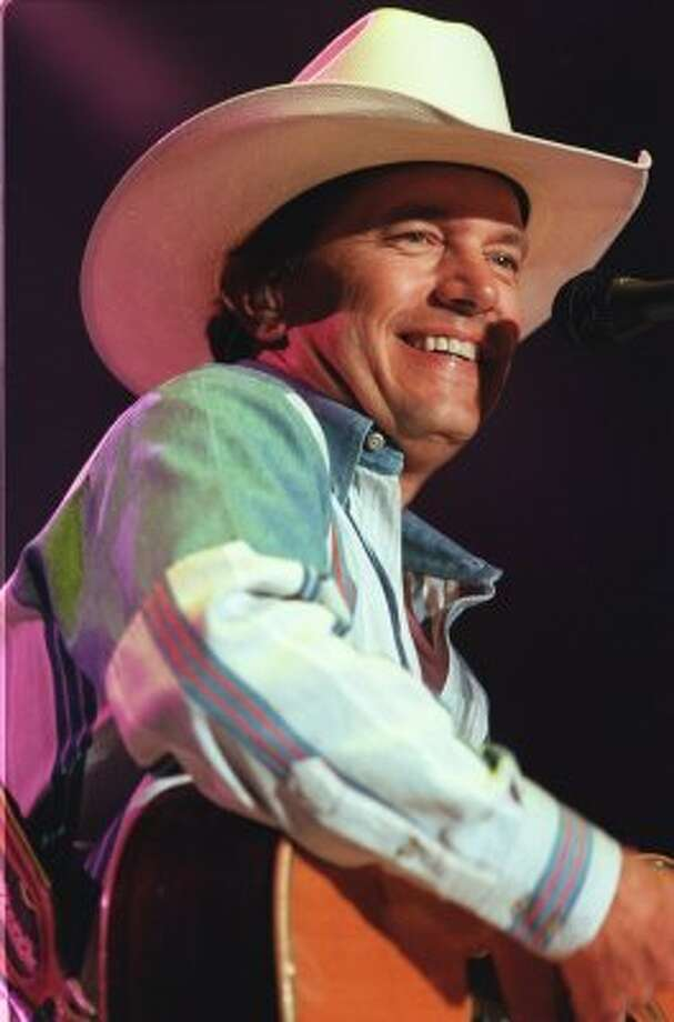 George Strait Country Music Festival at Alamodome, 2001.